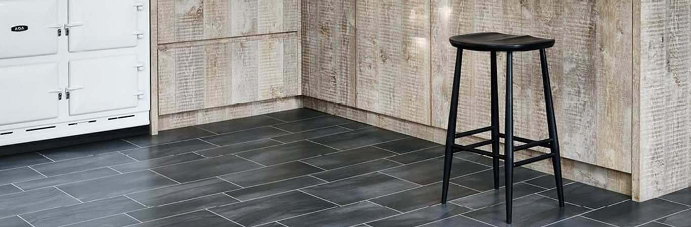 Amtico Signature – Abstract Ceramic Kitchen Flooring Showroom Burton on Trent