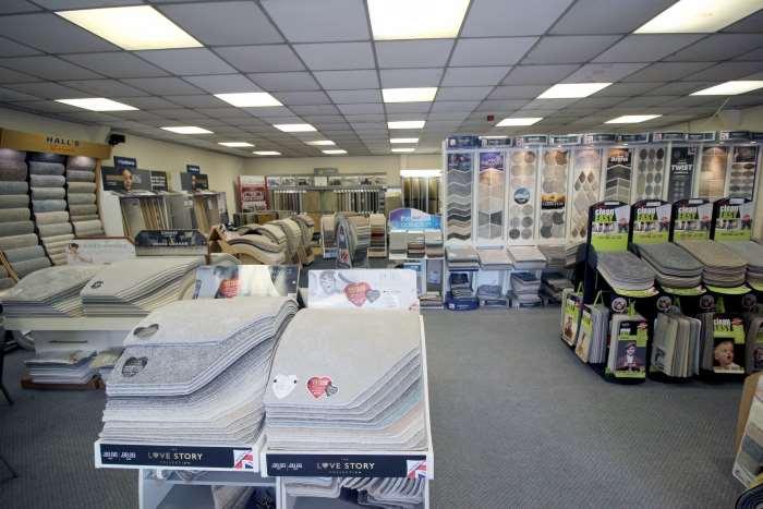 Carpet Showroom Burton on Trent – Inside Coytes Carpet Shop Wide View – sml.jpg