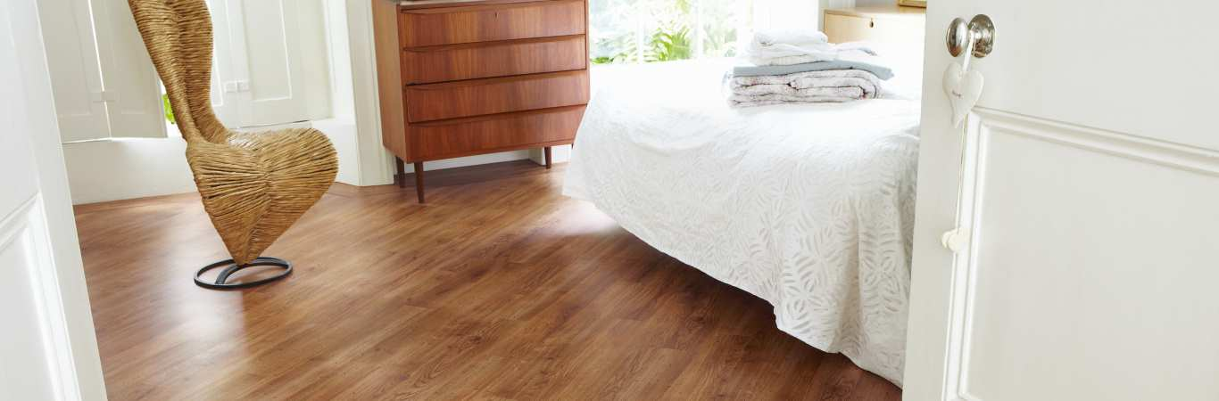 Karndean Knight Tile - Wooden Bedroom Flooring from Coytes Carpets in Burton on Trent