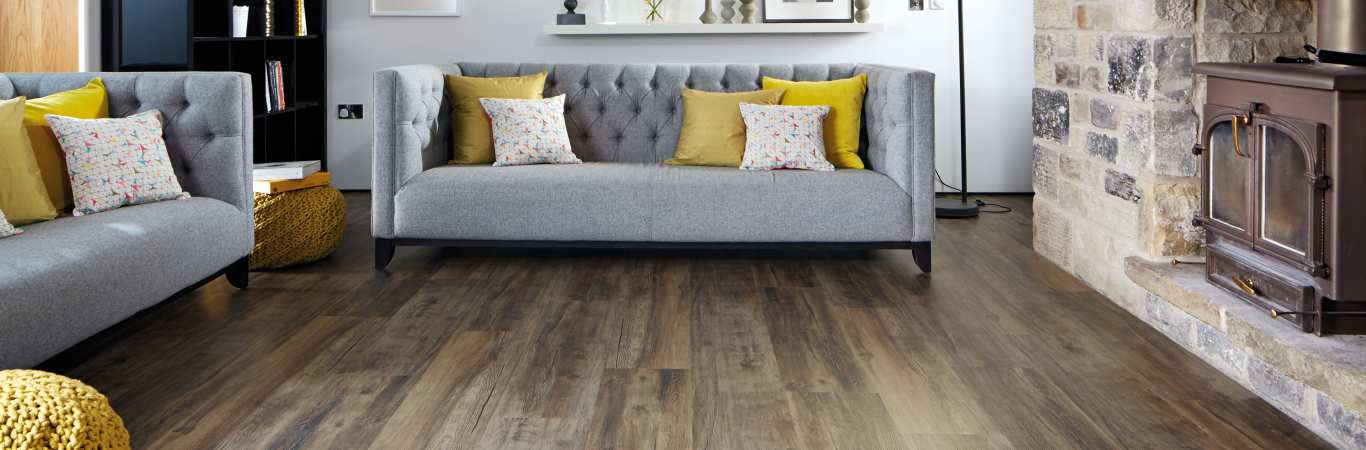 Karndean Looselay – Wood Flooring Example in Lounger area available from Coytes Carpets Showroom Burton on Trent