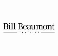 Logo For Bill Beaumont Textiles – Available at our Burton on Trent Curtains and Blinds Showroom